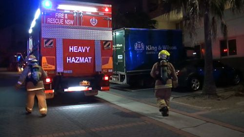 NSW Fire and Rescue, the State Crime Command Chemical Operations Unit and Hazmat were called in. (9NEWS)