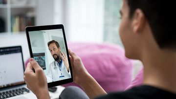 Telehealth allows Australians to access medical services online.
