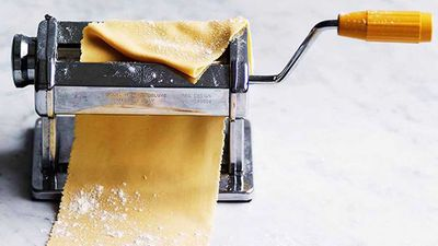 Egg-yolk pasta dough