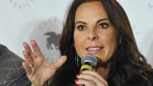 Mexican soap opera actress Kate Del Castillo.