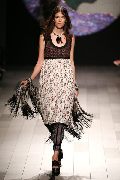 Anna Sui,New York Fashion Week spring '18, September 2017.