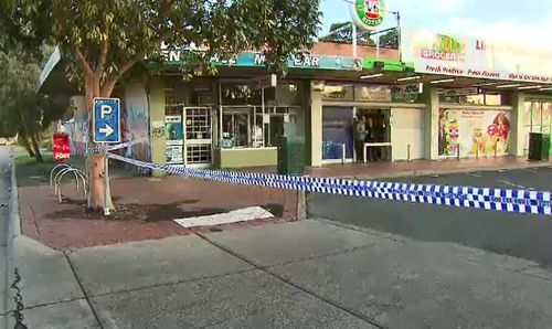 Witnesses told 9NEWS the victim and suspects were involved in a heated argument before the fatal stabbing. Picture: 9NEWS