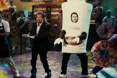 Taking embarrassing, awkward product placement to dizzying heights, Adam Sandler's much-maligned <i>Jack and Jill</i> spent a whole scene devoted to a commercial starring Al Pacino as himself. Of course, to enhance the plot that conveniently involves advertising exec Jack (Sandler) ...