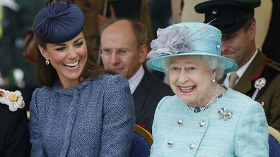 The Queen and Kate have grown close in recent years.