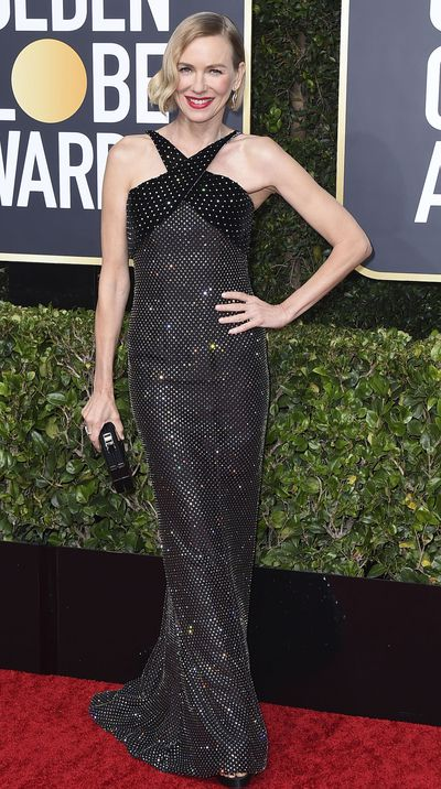 Naomi Watts at the 2020 Golden Globes.
