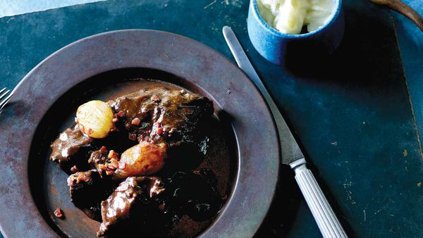 Beef cheek bourguignon recipe