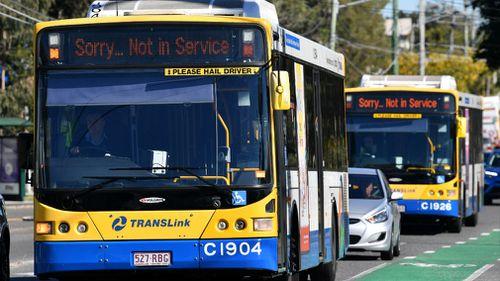 Brisbane bus drivers won't collect fares