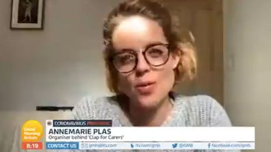 Clap for Carers creator Annemarie Plas on Good Morning Britain