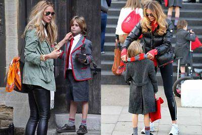Elle is a dedicated school-mum.
