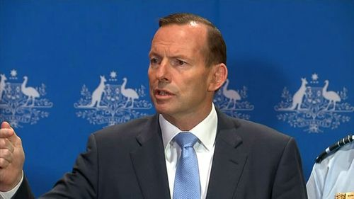 Abbott announces Australian troops will be deployed to assist with the fight against ISIL.