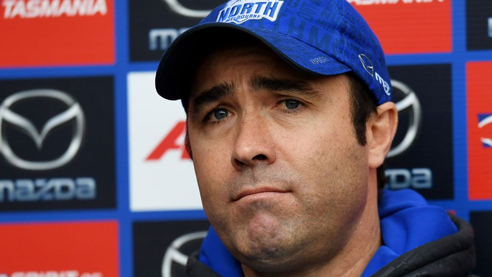Brad Scott continues as North's AFL coach