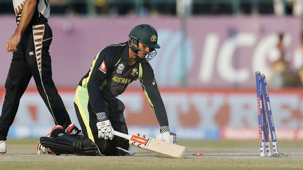 Aussies spun out in World T20 opener