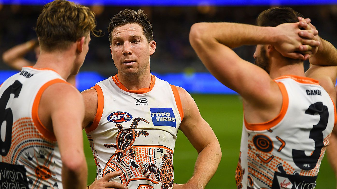 EXCLUSIVE: Shane Crawford says GWS Giants' premiership window closed after latest loss
