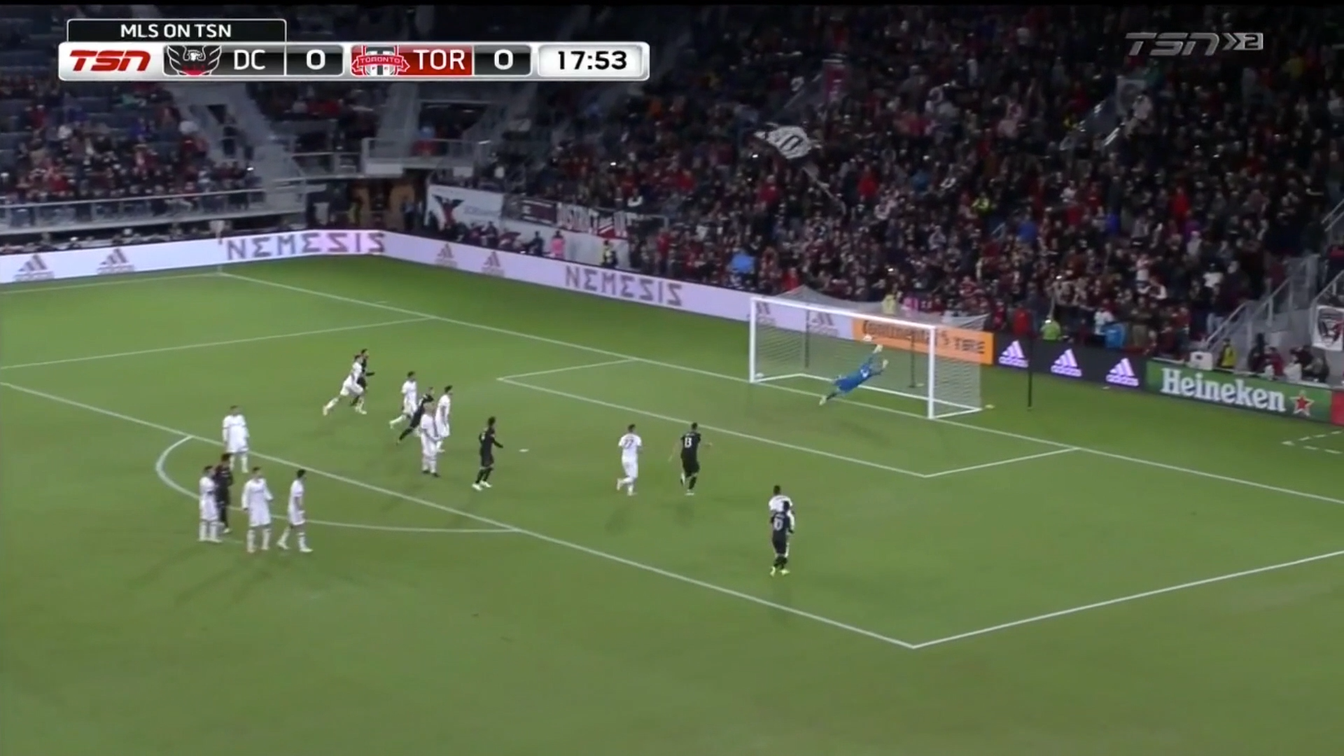 Wayne Rooney Scores Incredible Free-Kick For DC United