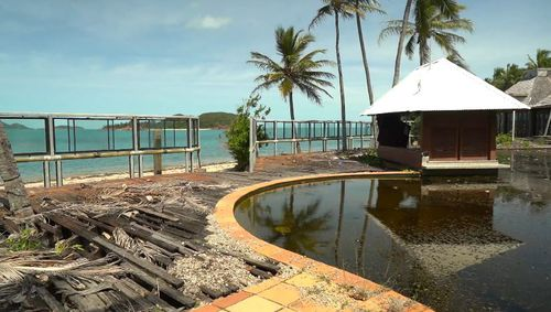 The abandoned site of Lindeman Islands Club Med resort
