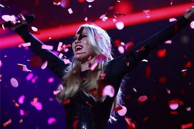 @thevoiceau: Anja is The Voice! #TheVoiceAu #VoiceFinale #TheVoice #TeamWill