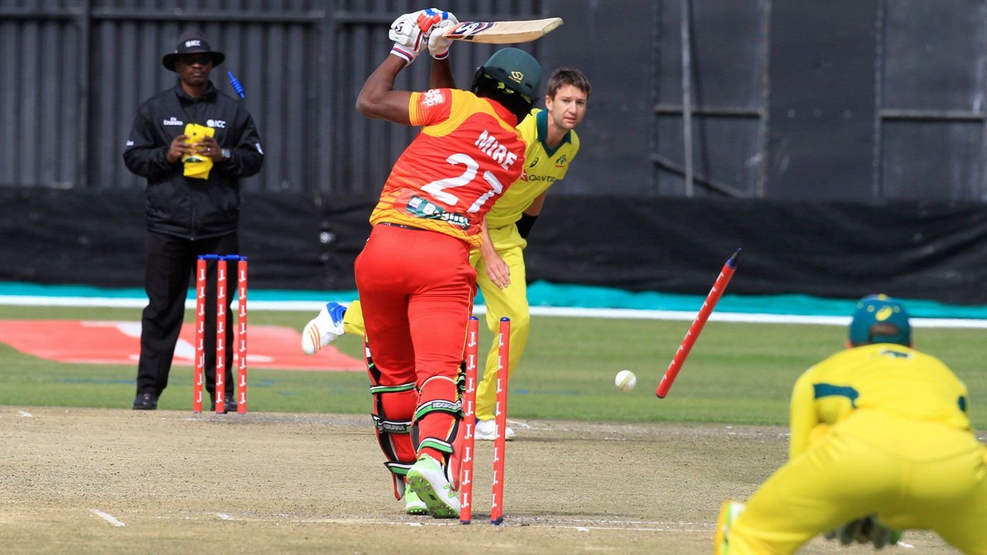 Cricket: Australia escape with narrow T20 victory against Zimbabwe
