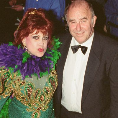 Margarita Pracatan and Clive James