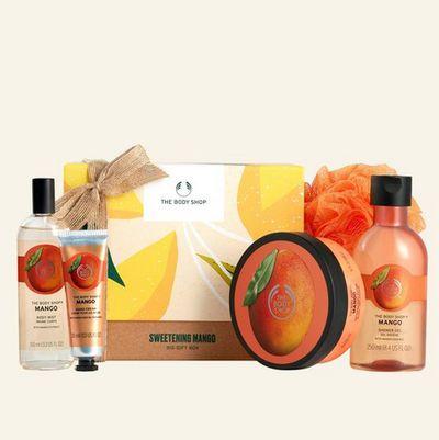 The Body Shop Sweetening Mango Big Gift Box, $60