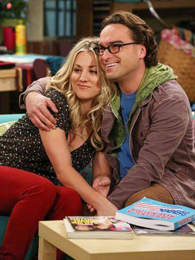 The Big Bang Theory, Kaley Cuoco, co-star Johnny Galecki