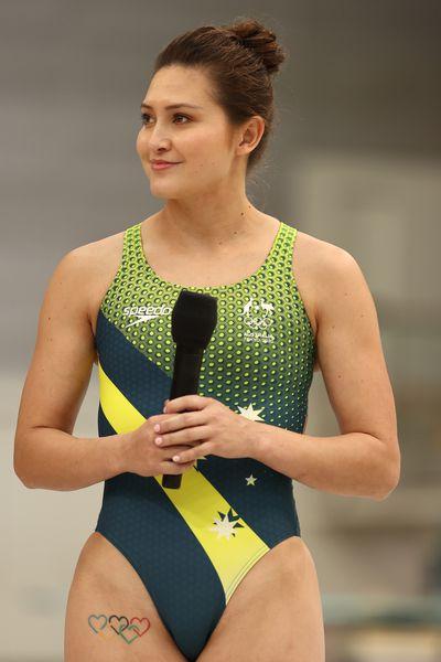 Aussie swim team uniforms