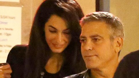 George Clooney proposed to Amal Alamuddin on bended knee... and designed seven-carat diamond sparkler