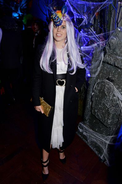 Princess Beatrice dresses up for Halloween in quirky unicorn costume