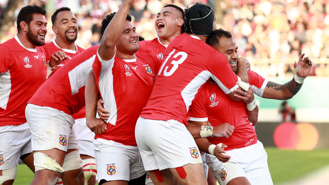 Tongans finish Rugby World Cup campaign in style with win over USA
