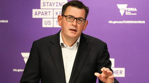 Daniel Andrews delivers today's COVID-19 update.