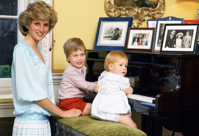 Princess Diana resided in Kensington Palace following her 1981 wedding to Prince Charles.