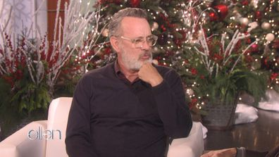 Tom Hanks tells Ellen about skydiving regret