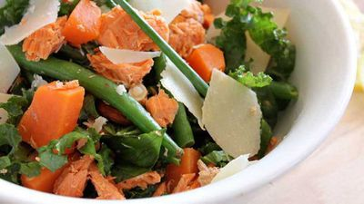 Susie Burrell's easy weight loss salmon salad
