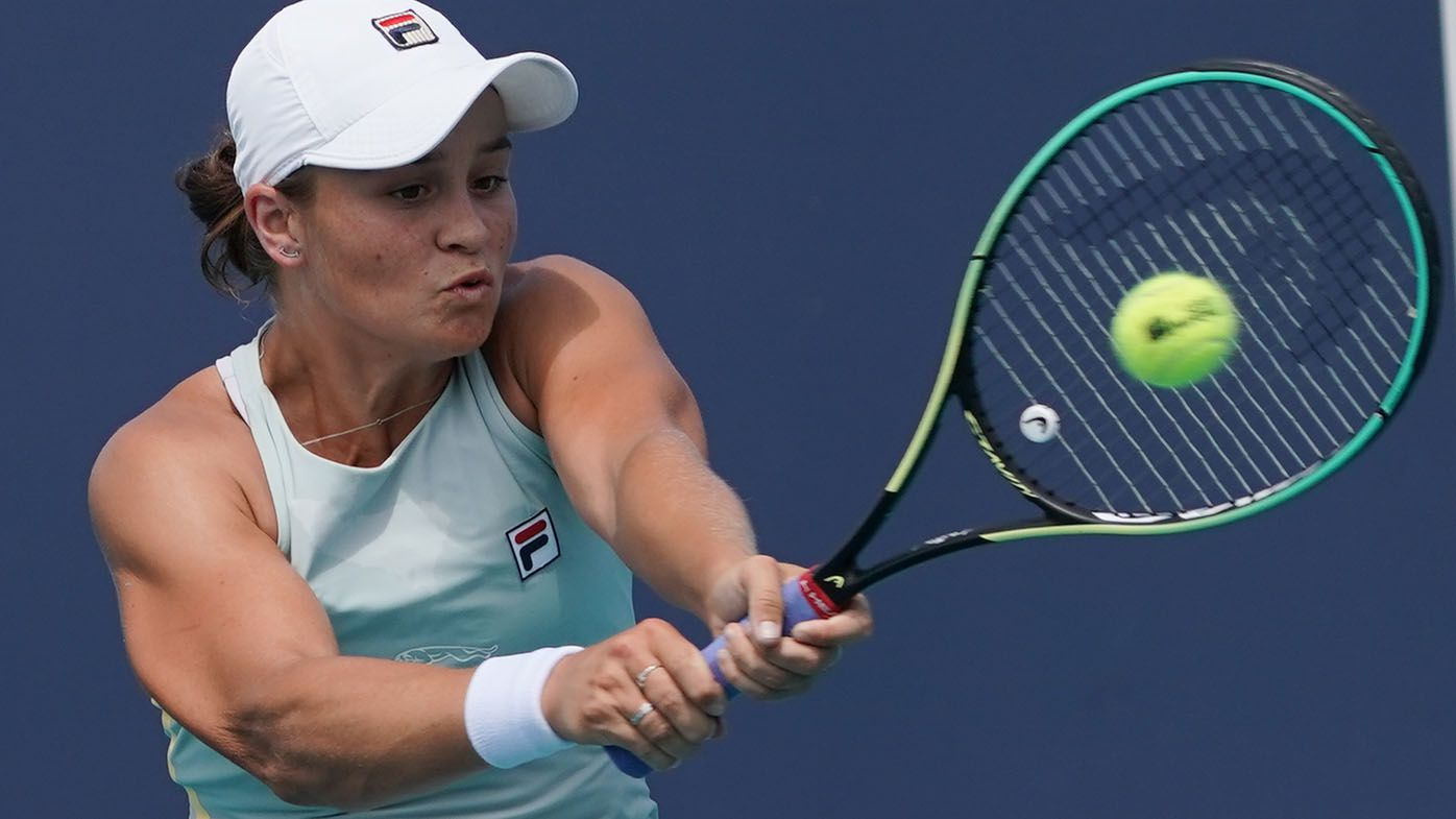 Ash Barty beats top-10 player Aryna Sabalenka to reach Miami Open semi-finals