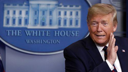 Donald Trump's coronavirus press conferences have been unpredictable and bizarre.