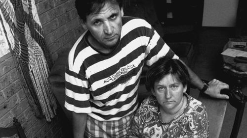 Gordana's parents Parents Branko and Peggy Kotevski in February 1995.