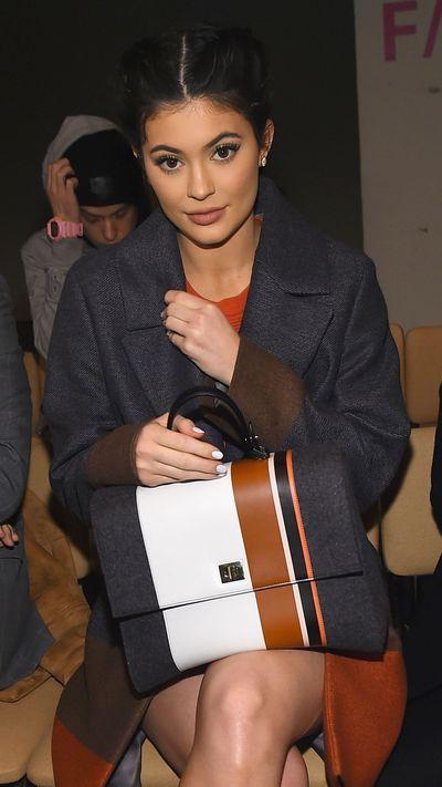 Kylie Jenner at Hugo Boss