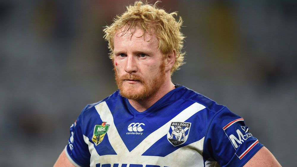 NRL career in fragile situation according to Canterbury Bulldogs captain James Graham