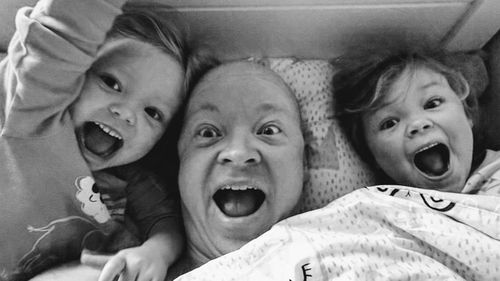 Scott Riddle had only gone to the GP to register his three children Ada, six, Calla, four and Ellis, 16 months with wife Amelia, 36, when he ended up being diagnosed with cancer.