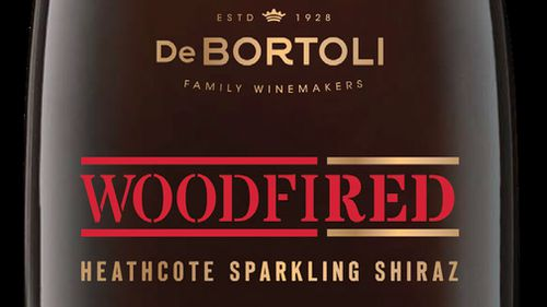"All 750ml glass bottles of Woodfired Sparkling Shiraz with the date marking of ""L7279b1"" or ""L7327b1"" pose a ""significant"" risk to customers. (De Bortoli Wines)"