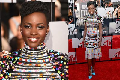 Lupita is up against Jennifer Lawrence for that coveted Best Actress award for the second time since the Academy Awards.