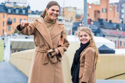 Princess Estelle 'twins' with mum Crown Princess Victoria, October 2020