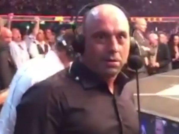 UFC commentator Joe Rogan. (Supplied)