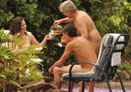 """The Noosa property offers a """"sensual nudist retreat with a difference."""" (NaturistBnB)"""