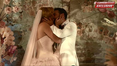 Jules and Cam have made Married At First Sight history; becoming the first pair to wed off-show.