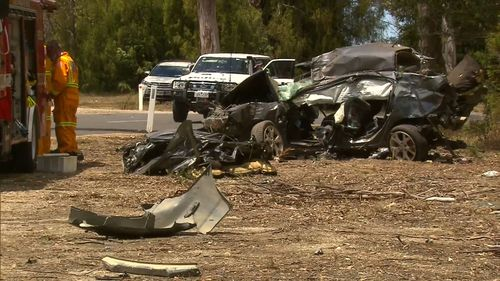 Alcohol and speed contributed to the crash. (9NEWS)
