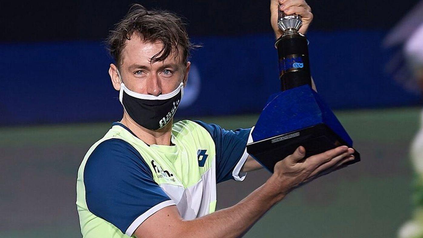 Aussie John Millman claims first ever ATP title at Astana Open