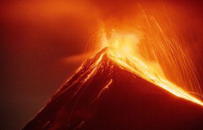 Volcan de Fuego, Guatemala, 2021