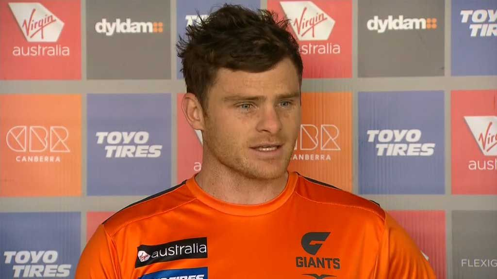 GWS defender Heath Shaw announces stats before milestone match