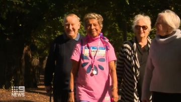 91-year-old in training for Mother's Day Classic