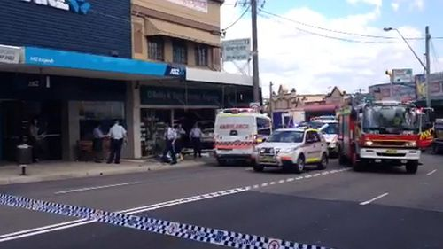 Several people are injured after a car crashed into a chemist in Sydney's south.